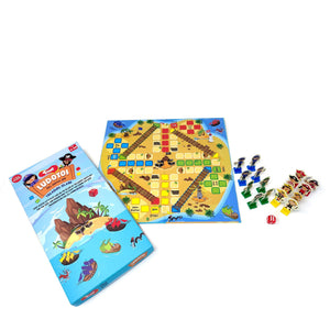Buy Toiing Ludotoi Ludo Board Game With A Caribbean Pirate & Police Theme - GiftWaley.com