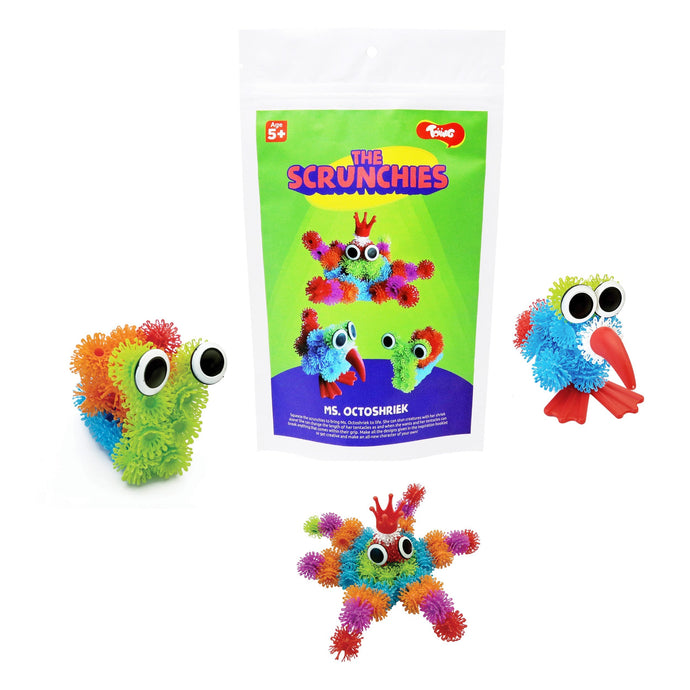 Buy Toiing Scrunchies Ms Octoshriek: Innovative Construction & Building Set - GiftWaley.com