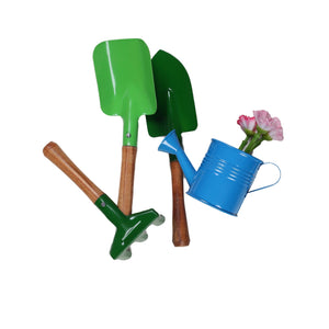Buy Toyroom Little Greenkeepers' Wooden hande metal Gardening Tools - GiftWaley.com
