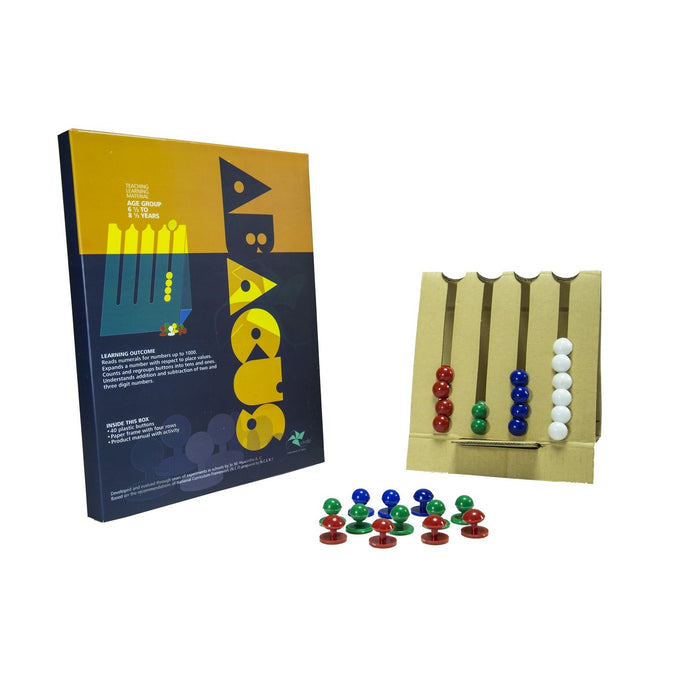 Buy Vikalp Abacus for Place Value Concept Learning Kit - GiftWaley.com