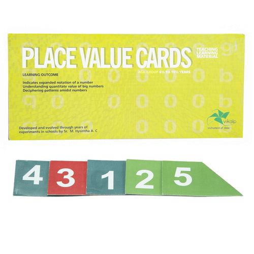 Buy Vikalp Place Value Cards Number Learning Kit - GiftWaley.com