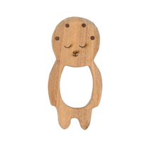 Load image into Gallery viewer, Buy Wufiy Baby Shape Neem Wood Teether - GiftWaley.com