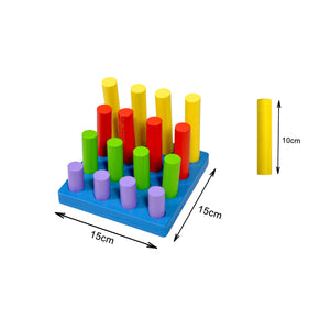 Kidken Montessori Colour And Size Concept Learning Bars