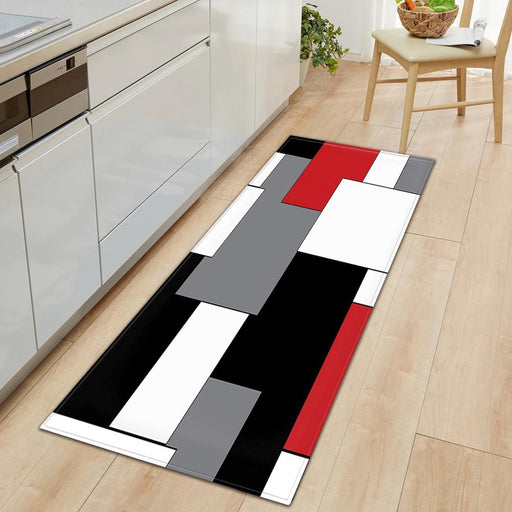 Kitchen Rugs Modern Long Carpet Mat Bedroom Living Room Kitchen AwsomU