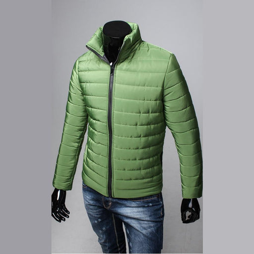 Men's Jacket Men's Fashion Slim Fit Pilot Coat Zipper Jacket AwsomU