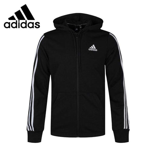 Men's Jacket Original New Arrival Adidas MH 3S FZ FT Men's jacket Hooded Sportswear AwsomU