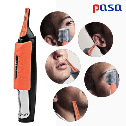 Micro Precision Eyebrow Ear Nose Hair Trimmer With LED Light AwsomU