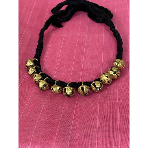 Necklace Beautiful ghungroo necklace in black AwsomU