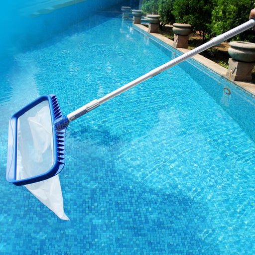 Pool Accessories Portable Aluminum Alloy Telescopic Handle Swimming Pool Cleaner AwsomU