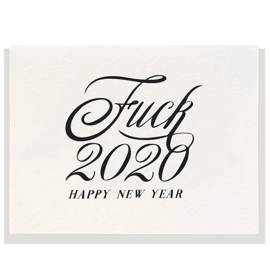 2020, Happy New Year, Dahlia Press