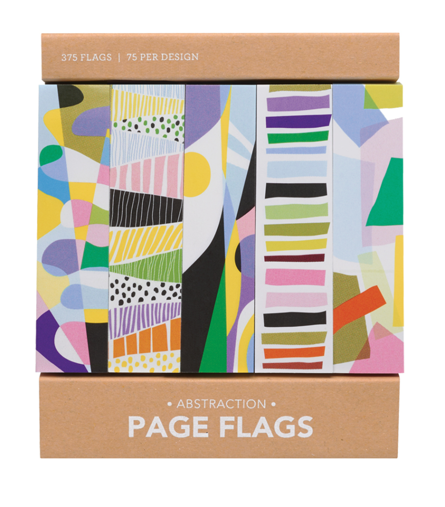 Abstraction Page Flags, Girl of All Work