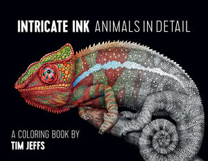 Intricate Ink: Animals Detail Coloring Book