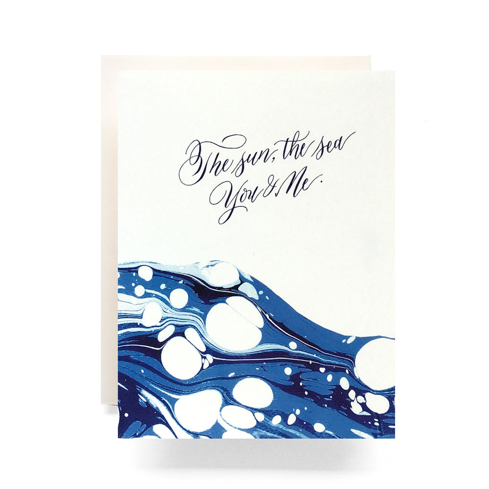 Marble Ocean Card, Antiquaria