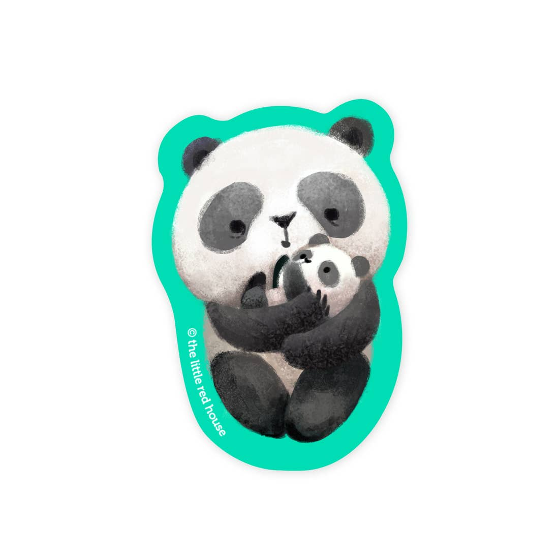 Baby Panda Sticker, The Little Red House