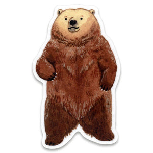 Bear Sticker