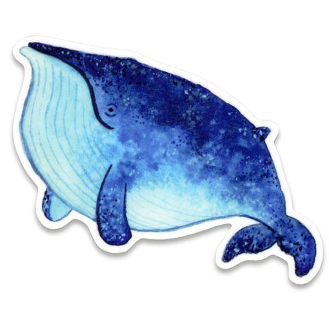 Blue Whale Sticker