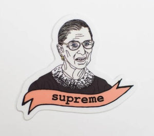RBG Supreme Sticker from the Card Bureau