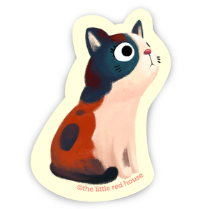 Mixed Cat Sticker