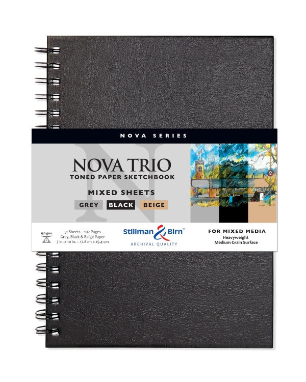 Nova Trio Spiral Sketchbook, Clairefontaine