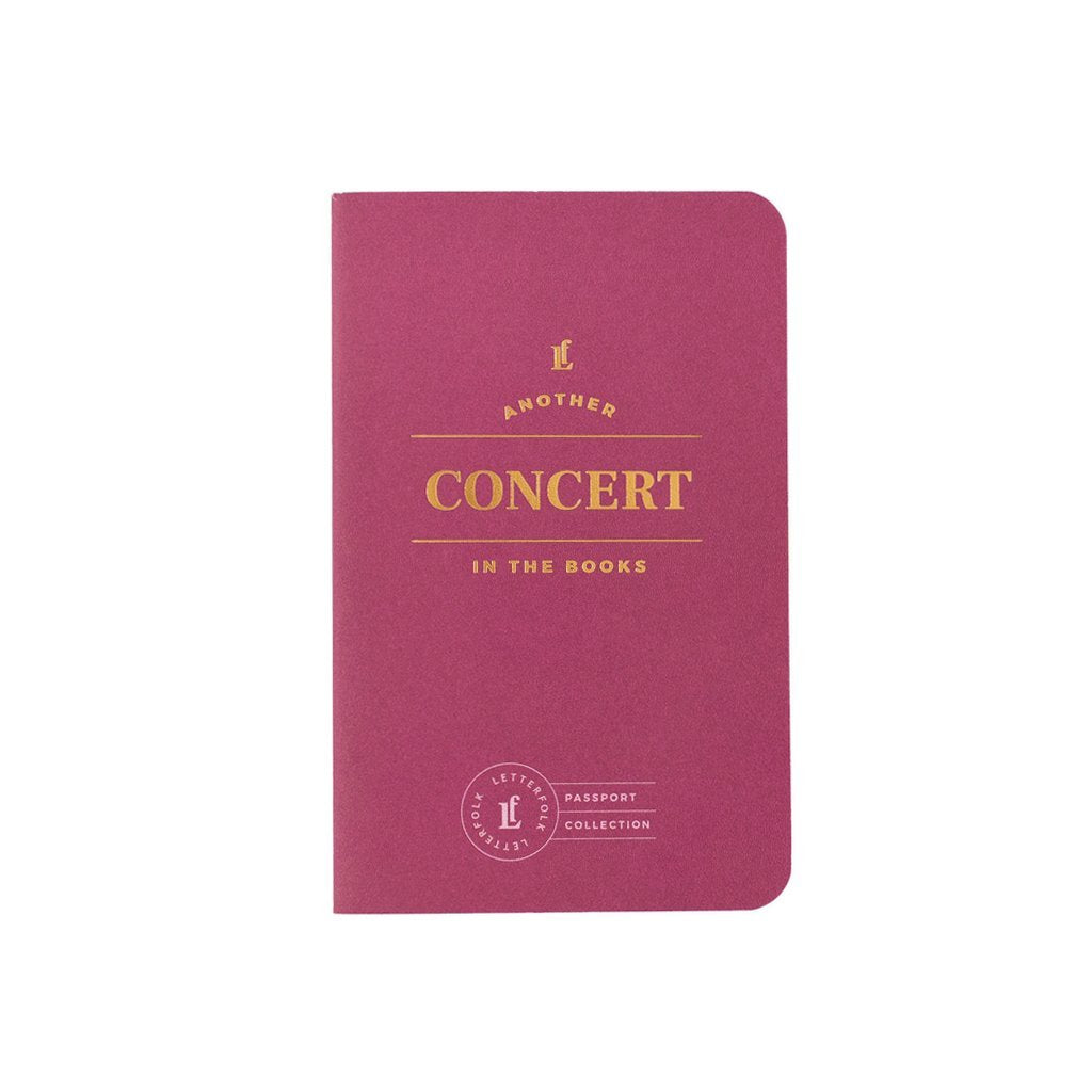 Concert Passport, Letterfolk