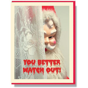 Creepy Santa Mix Boxed Set, Smitten Kitten Letterpress