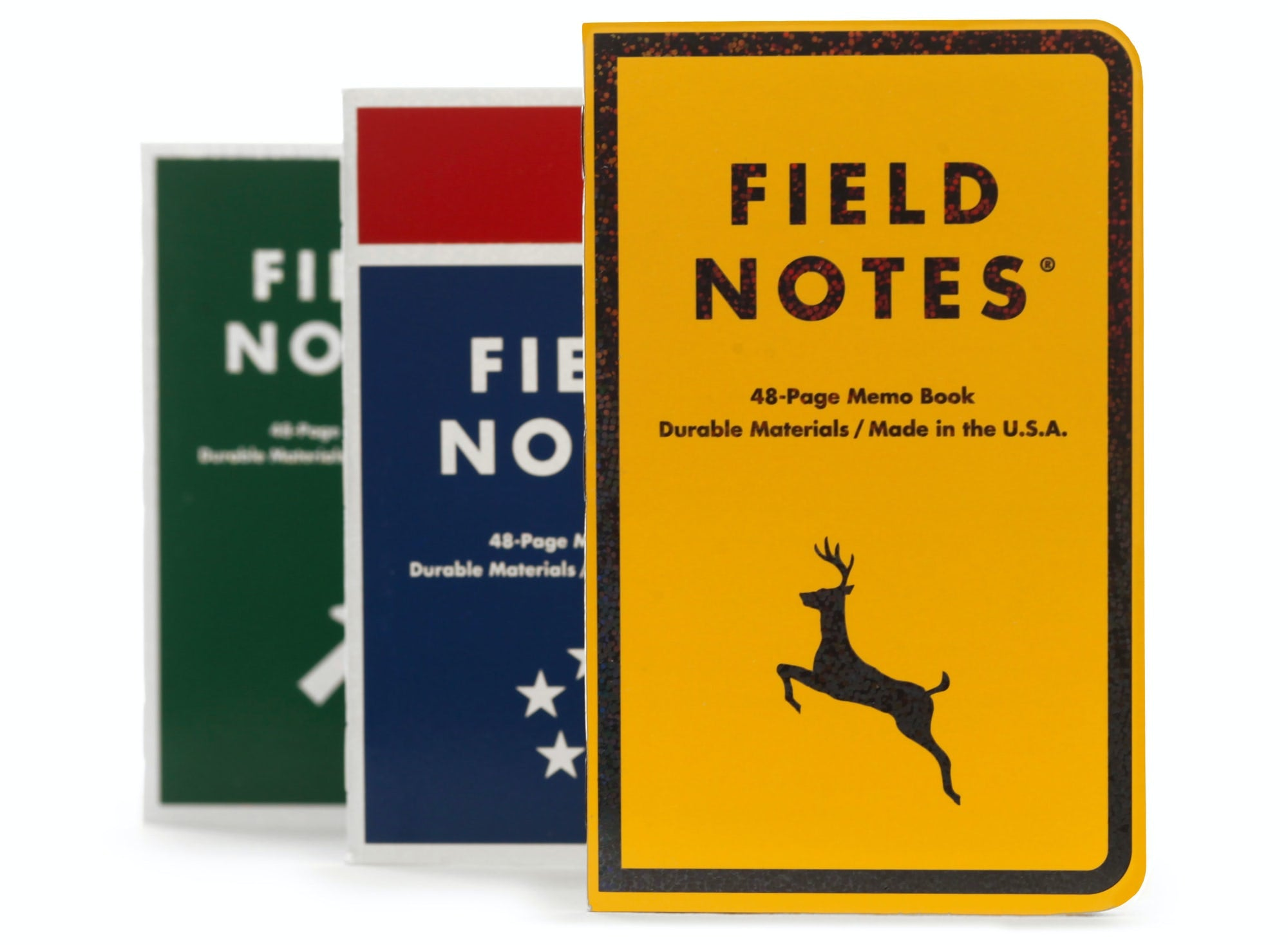Mile Marker Set of 3 Notebooks, Field Notes