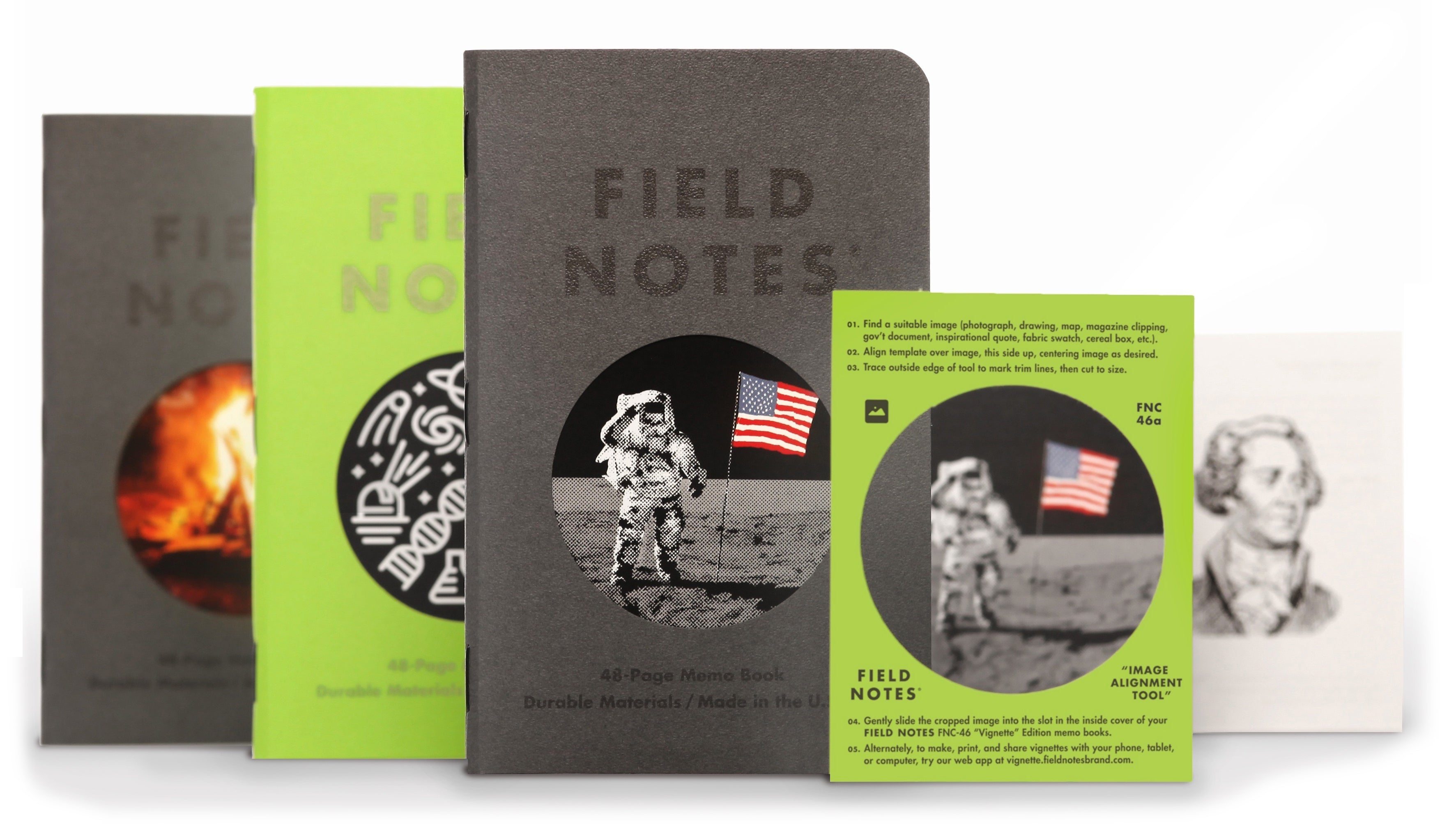 Vignette Notebook Trio, Field Notes