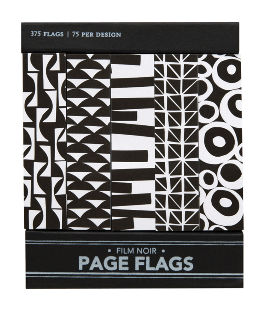Film Noir Page Flags, Girl of All Work