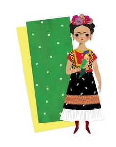 Frida Mailable Paper Doll, Of Unusual Kind