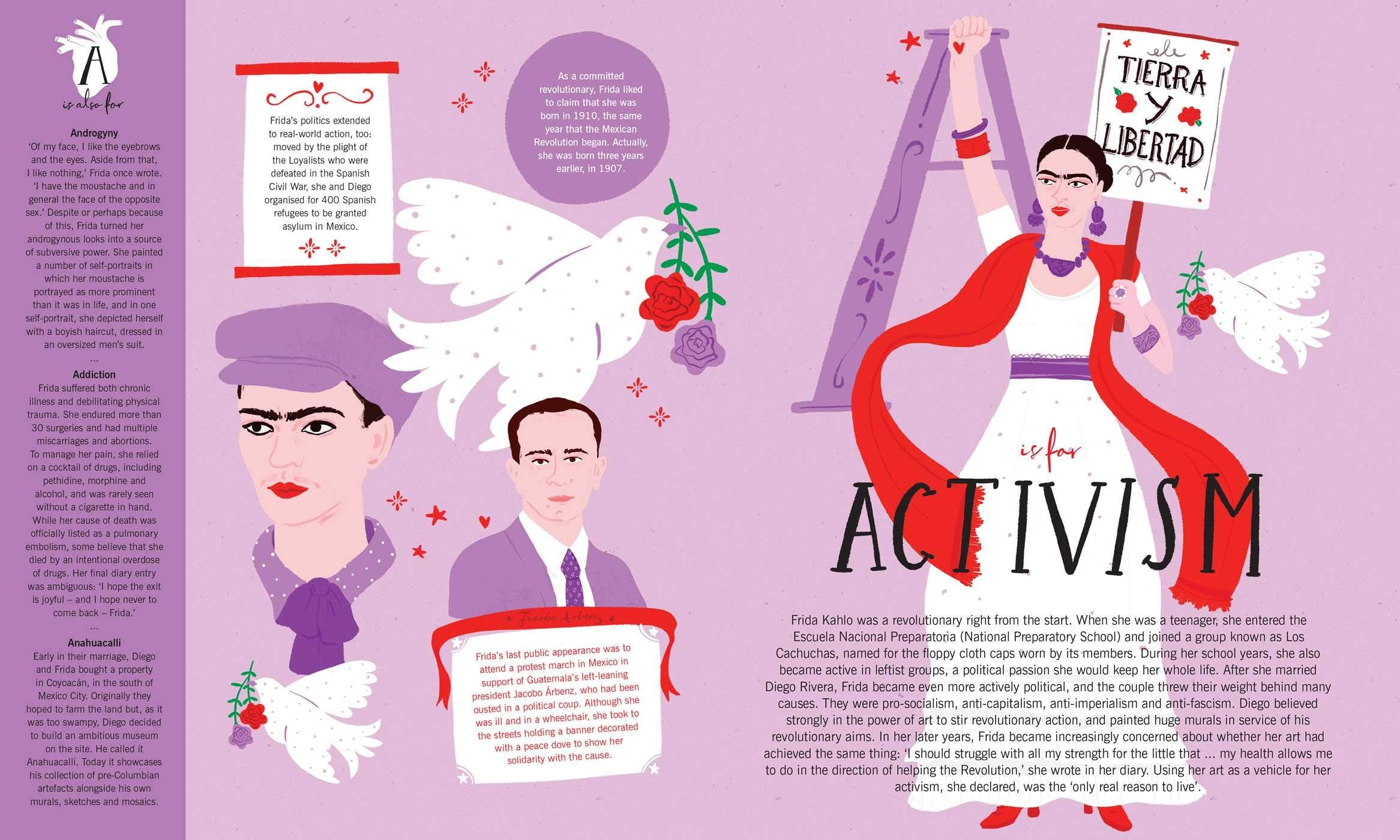 Frida A-Z: The Life of an Icon