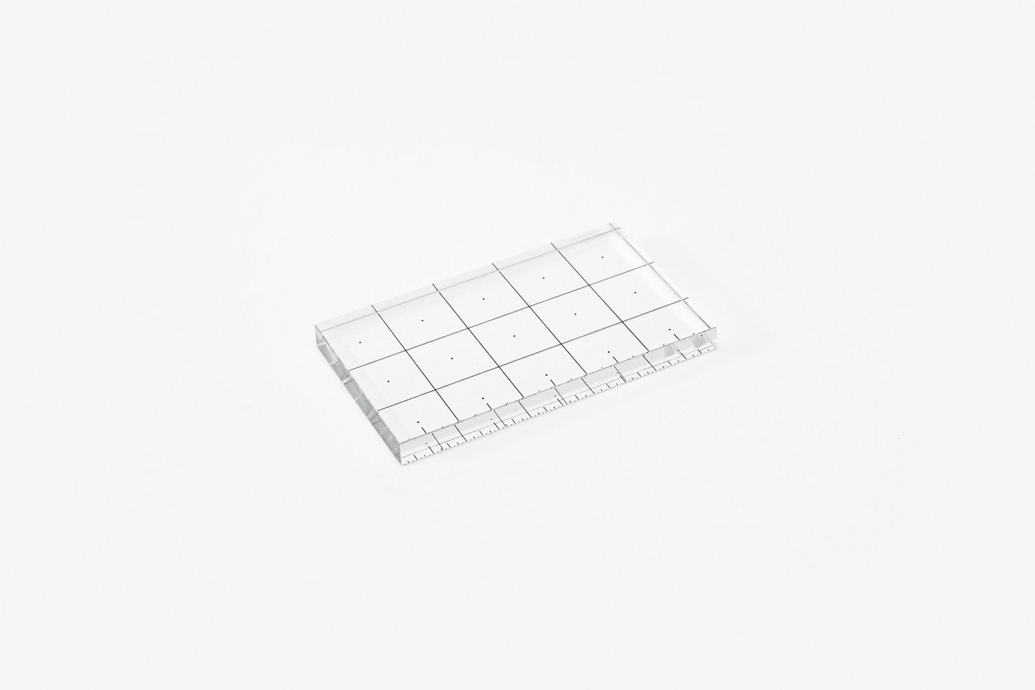 Glass Ruler, Inches, Areaware