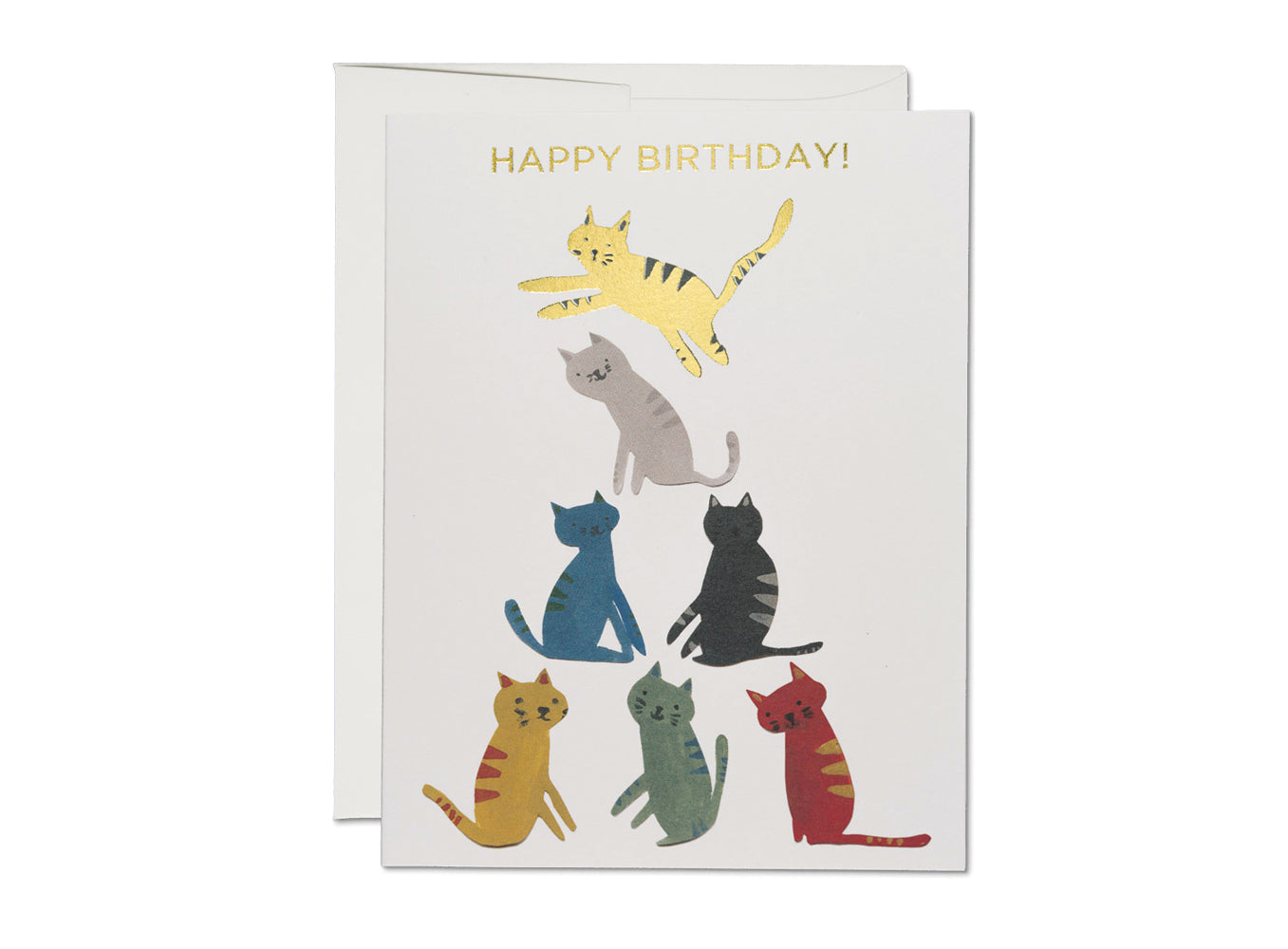 Gold Kitty, Red Cap Cards