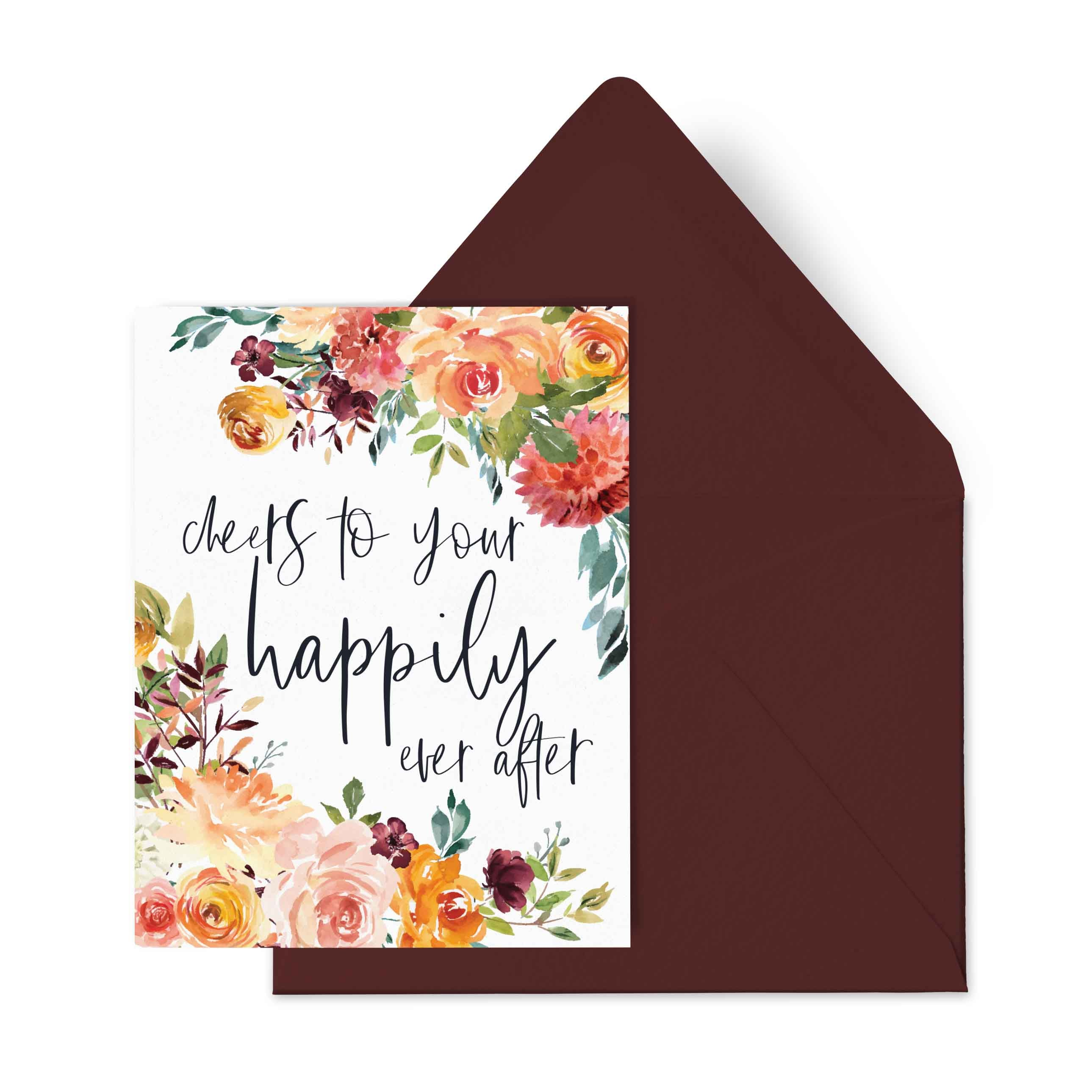 Floral Happily Ever After, Otto & Berk