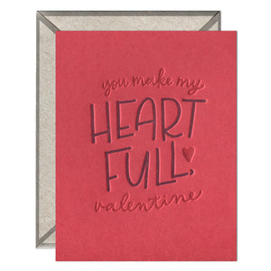 Heart Full Valentine, Ink Meets Paper