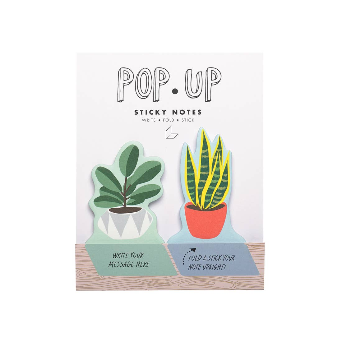 House Plants Pop-Up Sticky Notes, Girl of All Work
