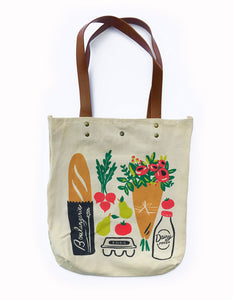 Farmers Market Tote, Idlewild Co.
