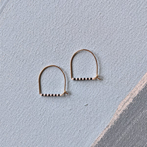 Small Keyhoop No. 2 Earrings