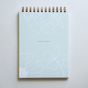Ideas in Bloom Notebook, Little Well Paper Co.