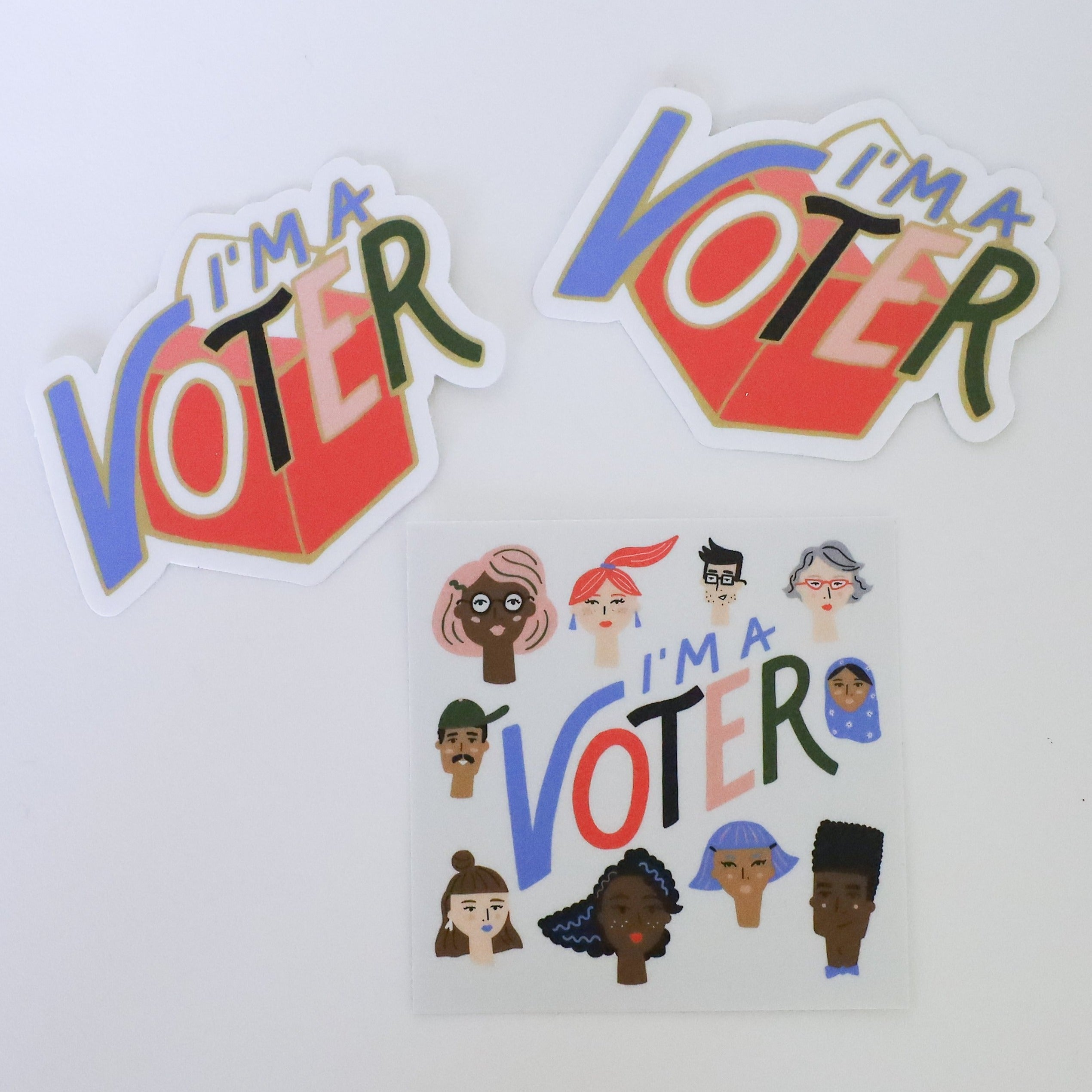 I'm A Voter Stickers, Idlewild Co.