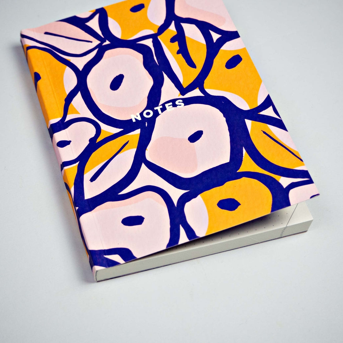 Inky Flowers Pocket Notebook, The Completist