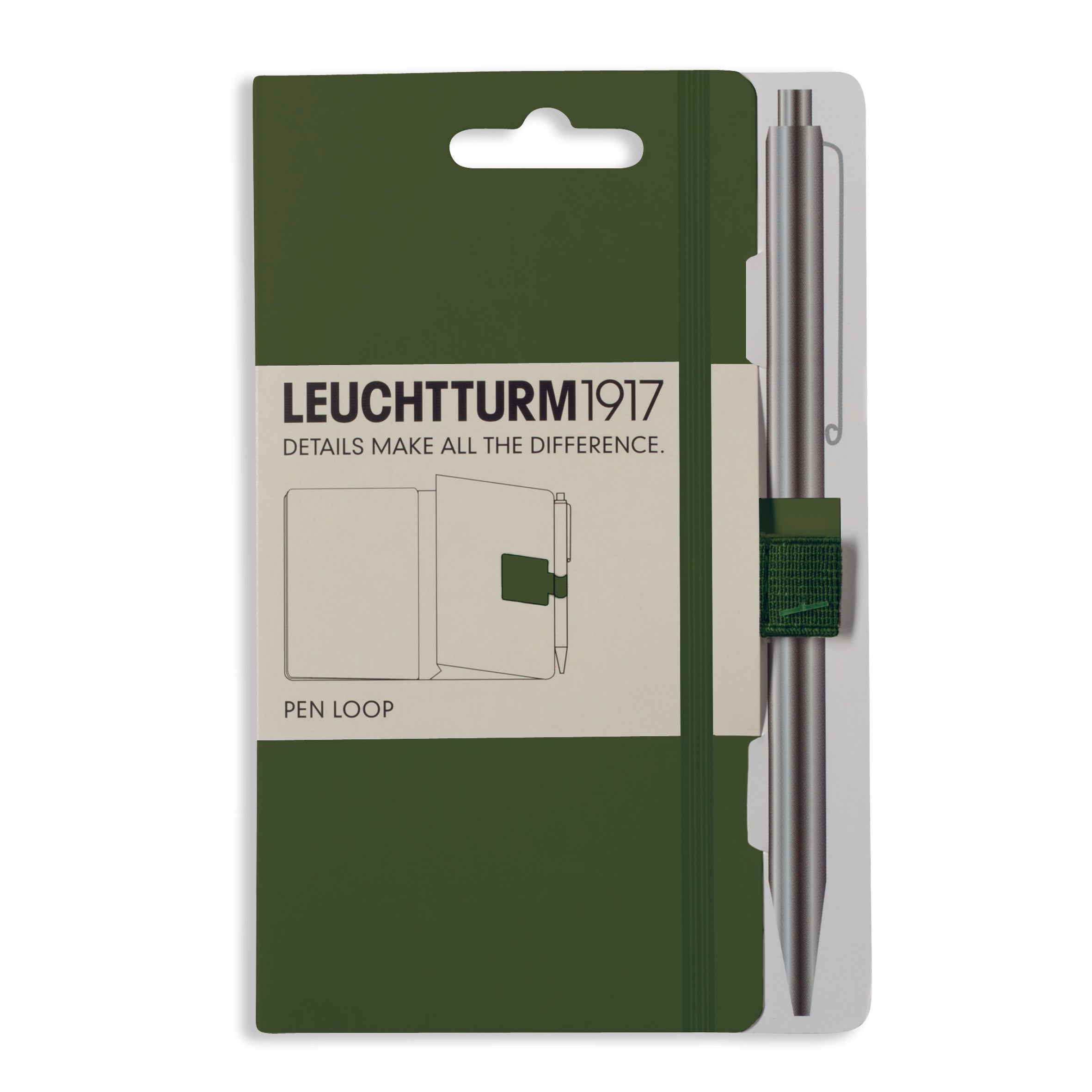 Pen Loop, Assorted Colors, Leuchtturm1917