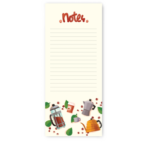 Coffee Notepad, The Little Red House
