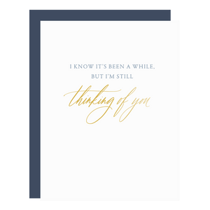 Still Thinking Of You Card, Little Well Paper Co.
