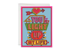 Light Up My Life, Red Cap Cards