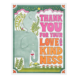Thank You for Love & Kindness, Lucky Horse Press