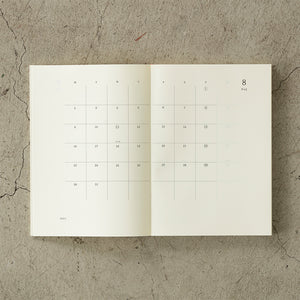 MD Notebook Diary 2021 (A5), Midori