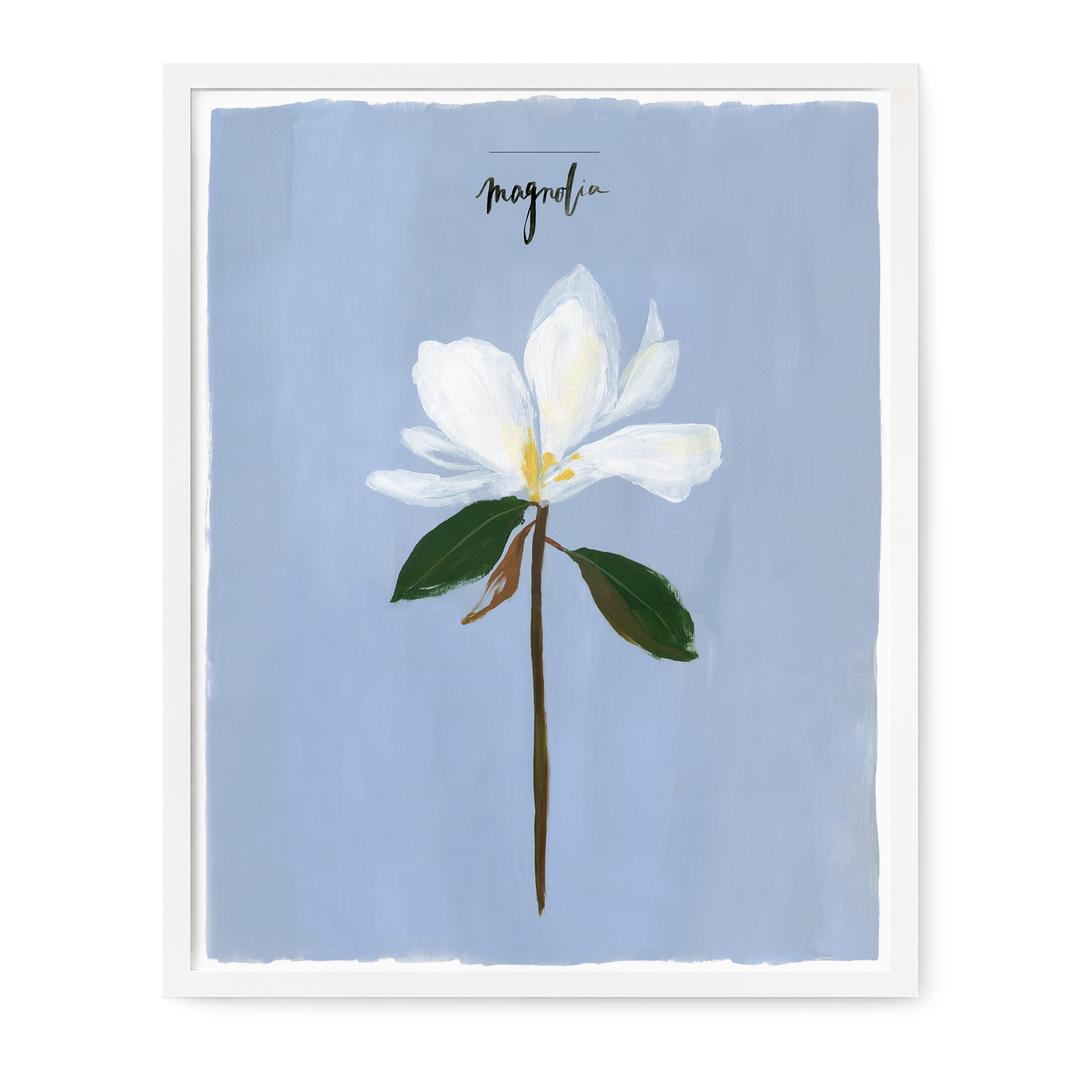 Magnolia Art Print, Our Heiday