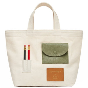 Mini OAD x CW Pencil Tote, Neutrals II
