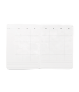 Large Monthly Planner Charcoal, Appointed