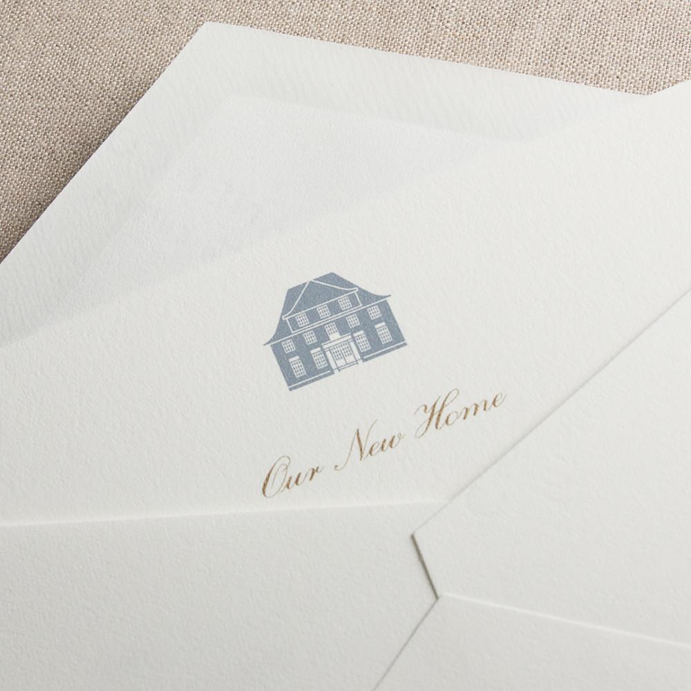 New Home Fill-in Cards, Crane & Co.